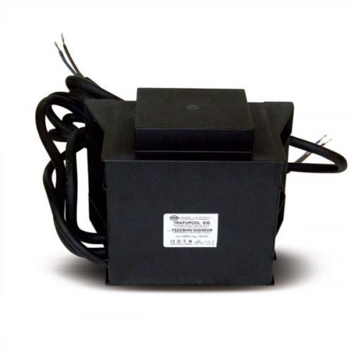 Gyantával kiöntött vasmagos transzformátor medence világításhoz AC 230V / AC 12V 600W 600VA URT-600I