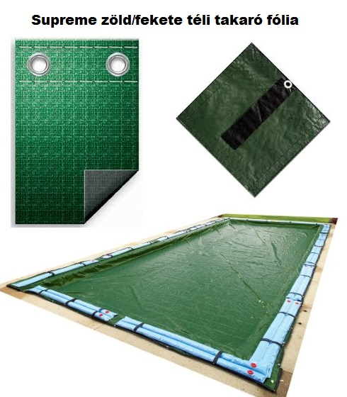 Téli medence takaró fólia 5,2 x 8,8m TET 001