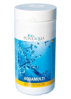 Pontaqua Aquamulti 1kg (klór, algaölő, pelyhesítő) AMU 010