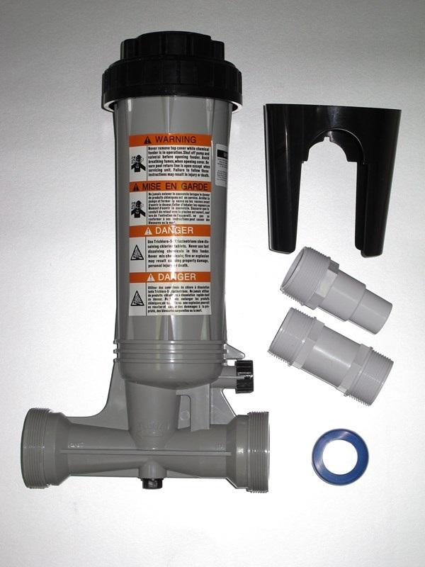 Automata átfolyós vegyszeradagoló 1,9kg kapacitás T59F
