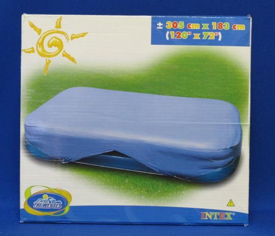 Intex puhafal gyerek medence takar 305cm x 183cm 58412 for Intex webshop