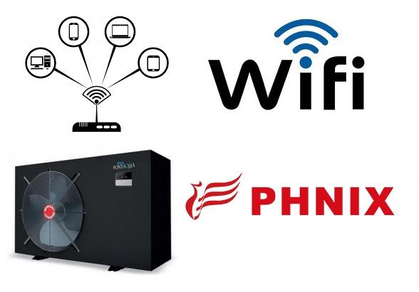 Pontaqua hőszivattyúkhoz WIFI modul PHNIX HSP 999 - </b>Nem raktári termék