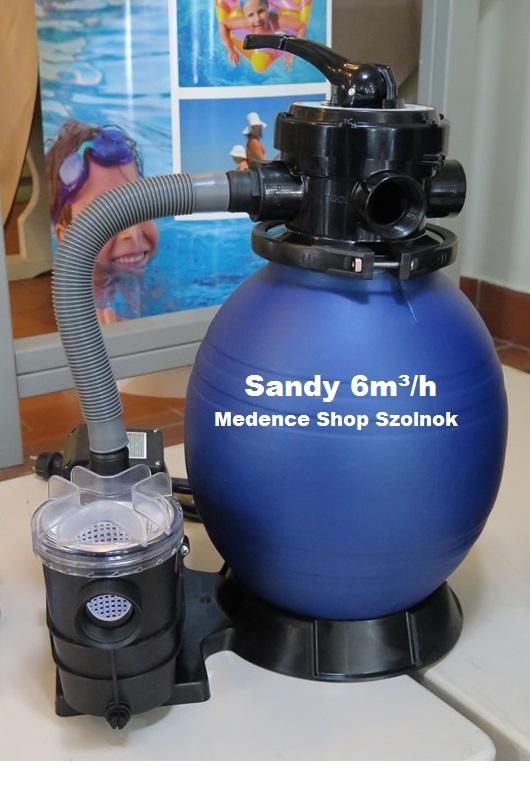 Sandy homokszűrős vízforgató 6m3/h 400W D300 VHO 051