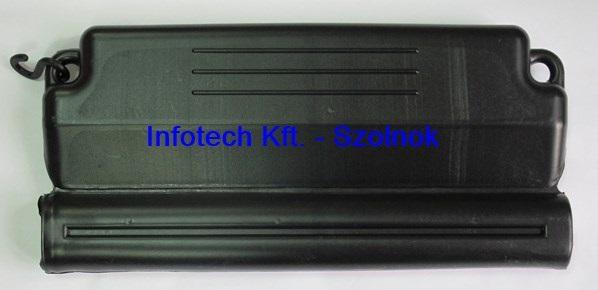 Fagytest medence téliesítéshez 50cm fekete Basic 173200