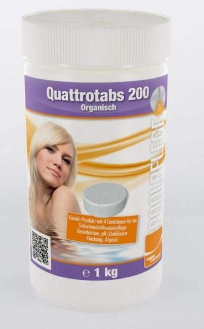 Aquacorrect Quattrotabs 200g 1kg kombinált tabletta AS-150061