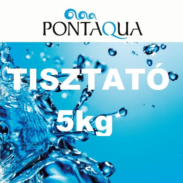 TISZTATÓ 5kg tavak vízkezelő szere TT0 050