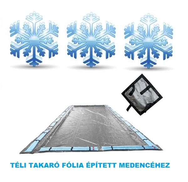 Silverado téli medence takaró fólia 9,8m x 17,8m (8m x 16m mérethez) AS-173116