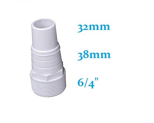 Porszívótömlő csatlakozó D38-32mm x 6/4 AS-140037