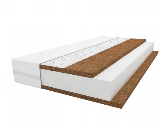 KOMFORT I.(kókusz-szivacs-kókusz szendvics)  matrac 60*120*6 cm