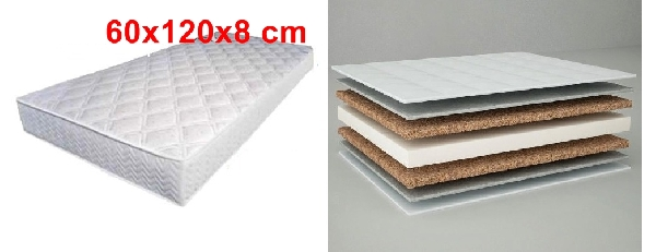 Komfort II matrac 60*120* 8 cm