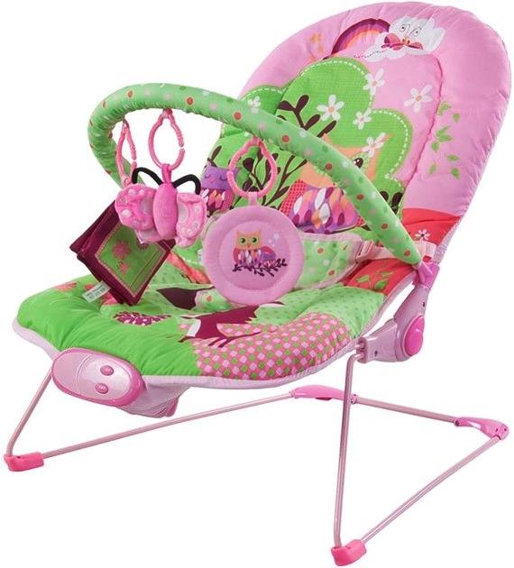 FreeON Bouncing Chair Happy Animals rezgő,zenélő pihenőszék
