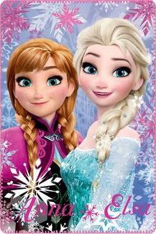 Polár takaró Disney Jégvarázs, Frozen 100*150cm