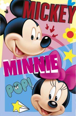 Polár takaró Disney Mickey és Minnie 100*150cm