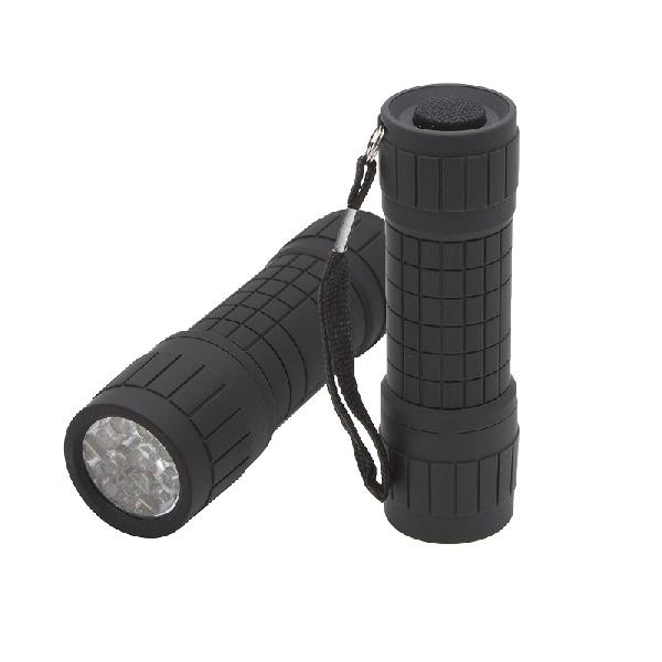 Zseblámpa 9 LED-del - alumínium 18-606