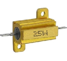10R ellenállás 25W fémházas hűtőfelülettel