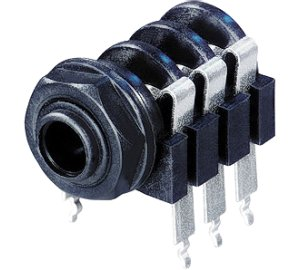 Jack 6,3 stereo alj beépíthető Neutrik NYS-218