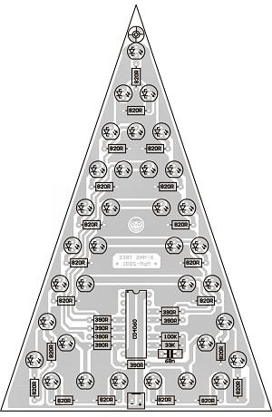 KIT LED-es  karácsonyfa