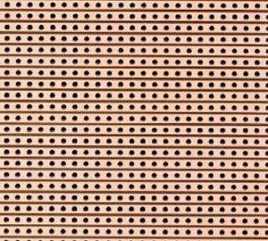 Próbapanel forrasztós  75x100 mm forrcsíkos 330-266
