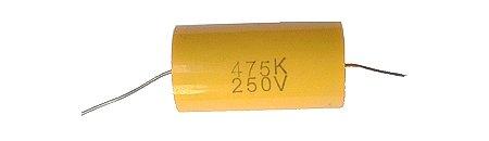 4,7uF /250 V C-219 jellegű kondenzátor