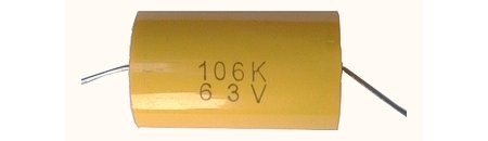 10uF /63 V C-219 jellegű kondenzátor