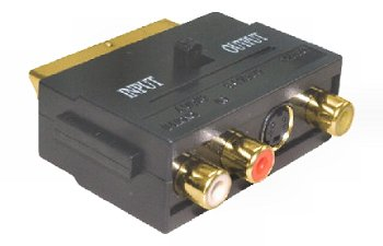 Scart-RCA (S-VHS) adapter 05-178