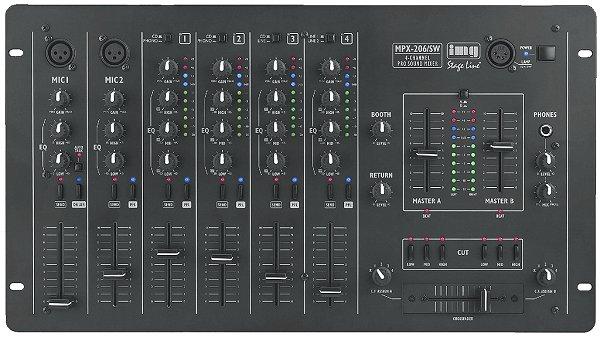 StageLine PA audio & DJ keverő MPX-206SW