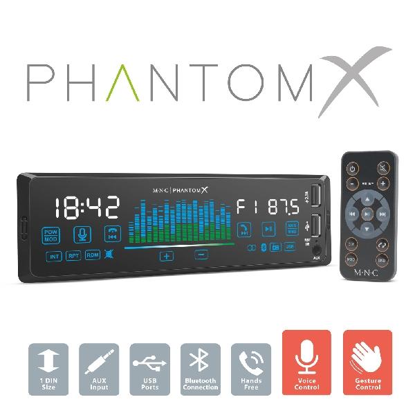 M.N.C MP3-as autórádió USB/MSD/MMC/AUX bemenettel 39713