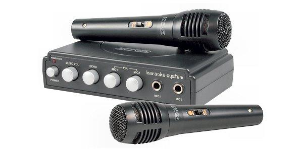 König karaoke mixer-szett HAV-KM11