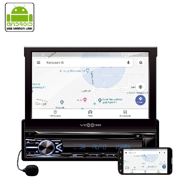 Autórádió és multimédia-lejátszó VBX800