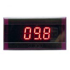 Digitális panelmérő 199,9V (piros) XL3600V-4