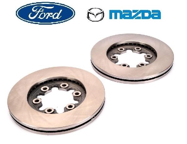 Féktárcsa TRW első hűtött 256mm párban (2db) Ford Mazda 2WD