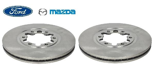 Féktárcsa 274mm Ford Mazda párban (2db)