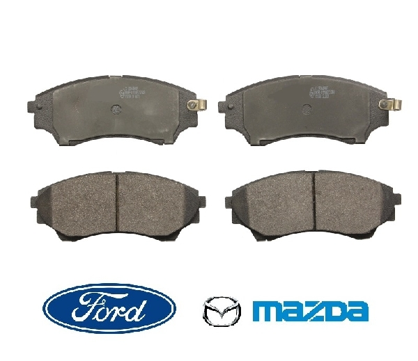 Fékbetét első 145mm Mazda B2500, BT-50, Ford Ranger