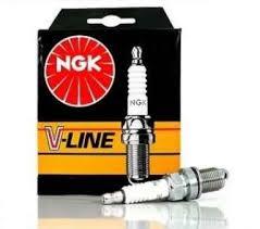 NGK V-LINE 38 4DB-OS GARNITÚRA (BKR6EZ)