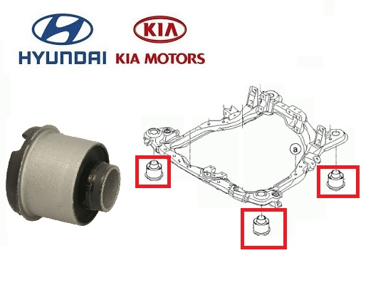 Hyundai Tucson Kia Sportage első bölcsőszilent