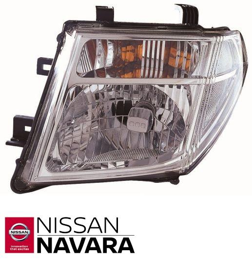 Fényszóró Bal Nissan Navara D40
