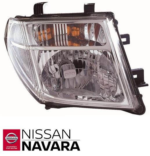 Fényszóró Jobb Nissan Navara D40