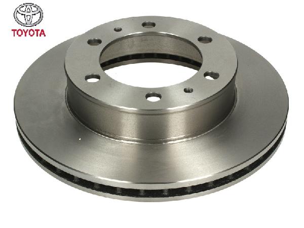 Első féktárcsa Hilux 06-15 2,5D4-D (1pár-2db)
