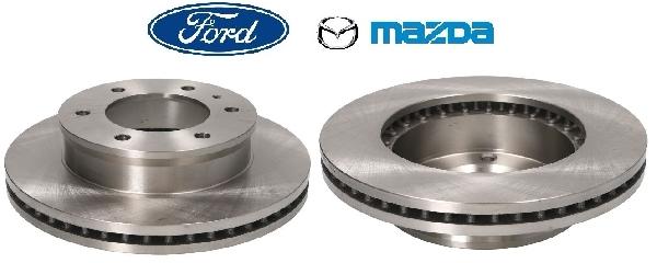 Féktárcsa 289mm párban (2db) Ford Mazda
