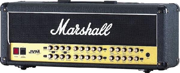 Marshall JVM-410H csöves gitár erősítő fej