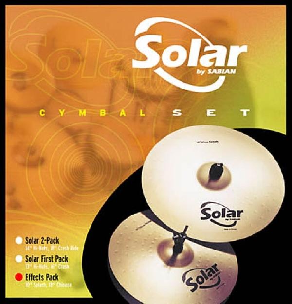 Sabian Solar 2-pack