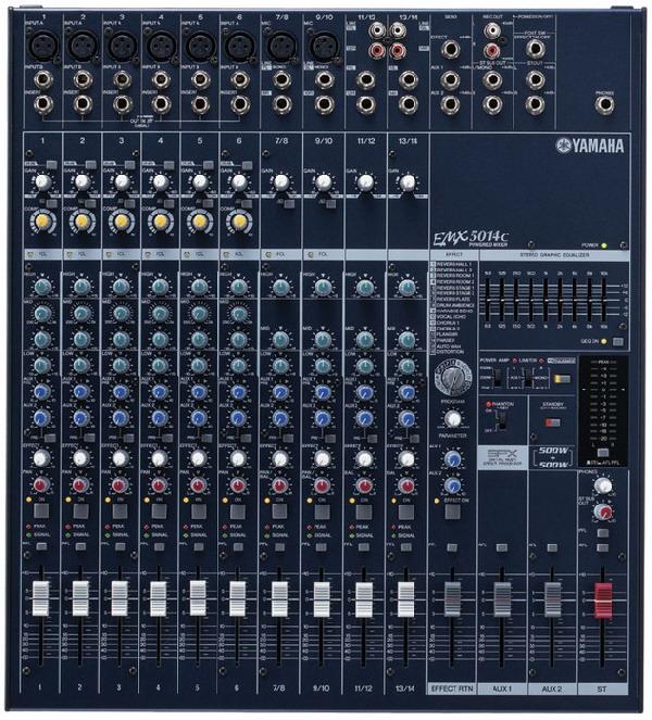 Yamaha EMX-5014C keverőerősítő