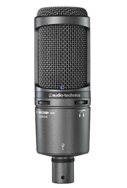 Audio-Technica AT2020USB+ Kardioid kondenzátor USB mikrofon