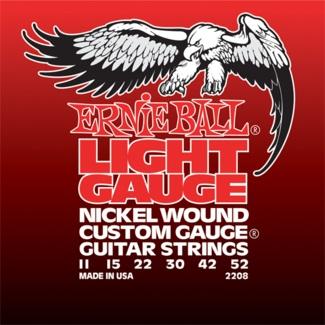 Ernie Ball elektromos gitár húrkészlet 2208