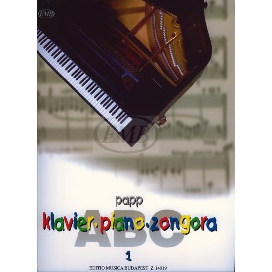 Papp Lajos:Zongora-ABC