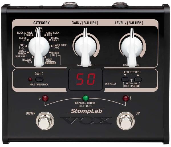 VOX StompLab 1G szólógitár multieffekt