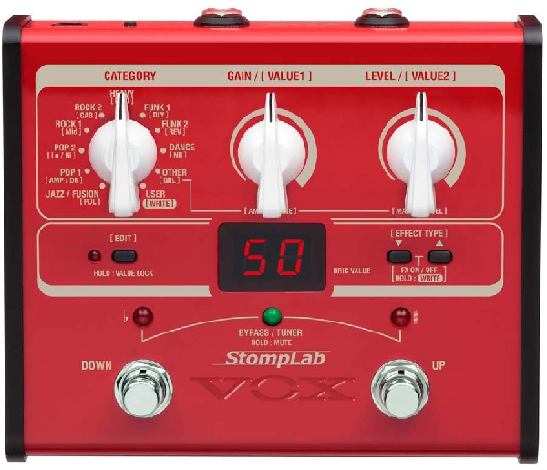 Vox StompLab I B basszusgitár multieffekt