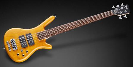 Warwick Rockbass Corvette $$ 5 Honey Violin Oil Finish 2010 Version