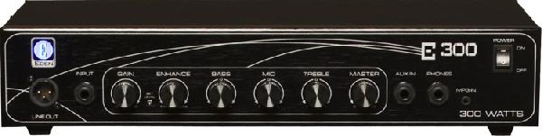 Eden E300 E-Széria Basszuserősítő fej. 300W, aux-in