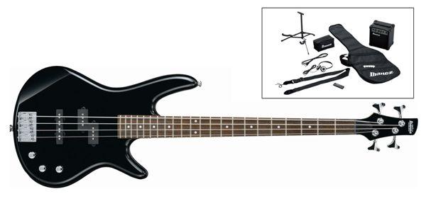 Ibanez IJSR190-BK 4 húros basszusgitár szett